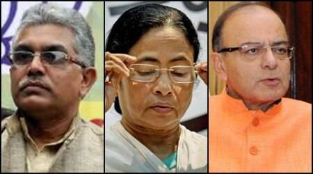 State BJP to boycott Mamata's swearing-in, Arun Jaitley to attend