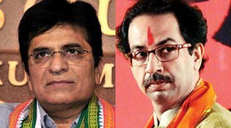Kirit Somaiya threatens defamation suit against Udhhav Thackeray