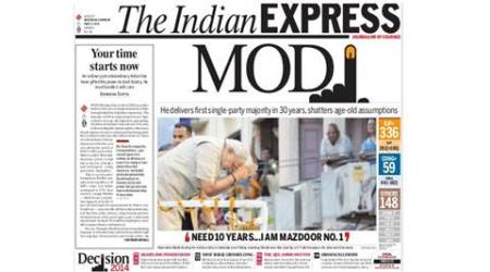 BJP's landslide win this day two years ago: The best stories from Express
