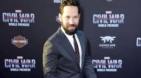 Paul Rudd was starstruck on 'Captain America'set