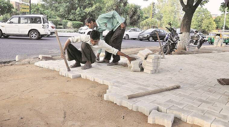 Adviser steps in, seeks record of pavers to be installed in Chandigarh