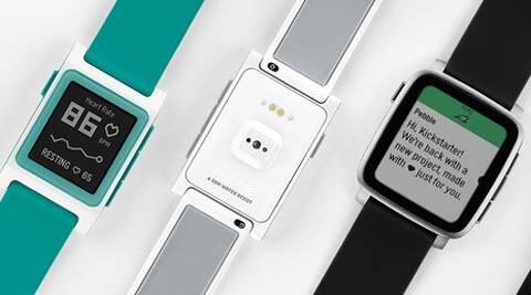 Pebble, Pebble Time 2, Pebble 2, Pebble 2 specs, Pebble Kickstarter, Pebble Kickstarter new project, Pebble Time 2 features, Pebble Core, Pebble Core accessory, Pebble Core GPS, Pebble Time 2 Price, Pebble Time Amazon India, Pebble Amazon India, smartwatches, technology, technology news