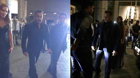 Salman Khan and rumoured girlfriend Iulia Vatur make their first joint public appearance at Preity Zinta's reception | The Indian Express