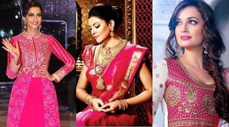 'Pink is the new favourite of Indian women'