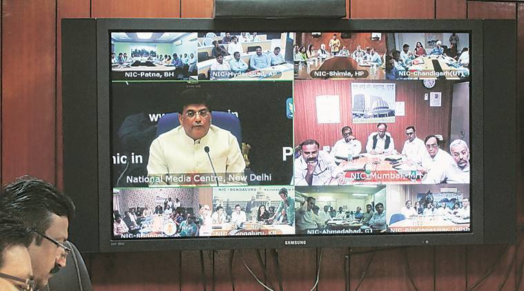 Union Minister of State, Piyush Goyal, UP Government, Renewable Energy, Rural electrification, Renewal Energy Ministry, India News, Lucknow