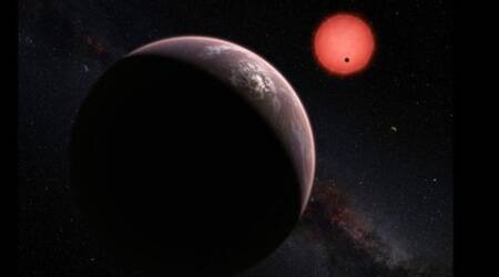 Scientists discover three 'potentially habitable' planets, just 40 light-yearsaway