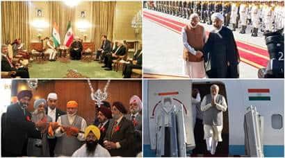 In Iran, PM Modi inks historic Chabahar deal, visits Bhai Ganga Singh SabhaGurudwara