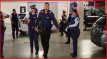 Watch police from across the world dance in response to 'Running Man' challenge