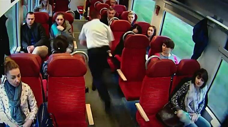 Viral videos, CCTV footage of train accident, CCTV footage of train driver saving passengers, Polish train driver saves passengers, Mateusz Szymanski
