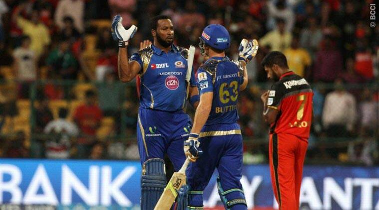 Image result for mumbai win against rcb