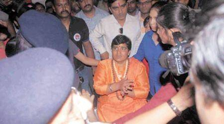 In Ujjain for holy dip, Sadhvi Pragya praises 'patriot' PM Modi