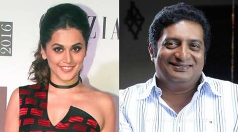 Taapsee Pannu, Prakash Raj, Prakash Raj next movie, Taapsee Pannuj next movie, Taapsee Pannu news, Prakash Raj news, Salt and Pepper, Entertainment news