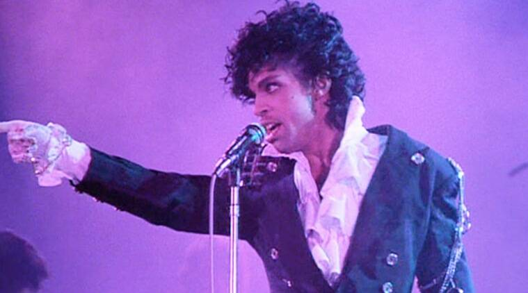 Prince's iconic 'Purple Rain' jacket goes up for auction | The ...