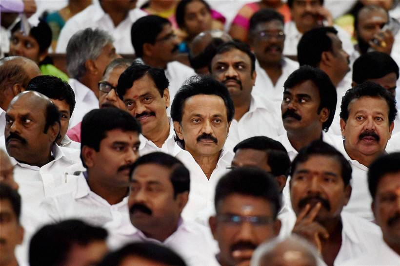 Jayalalithaa, Jaya, Jayalalithaa swearing in, Jaya swearing in, CM Jayalalithaa, CM Jaya, Tamil Nadu, Tamil Nadu politics, M K Stalin, AIADMK, DMK