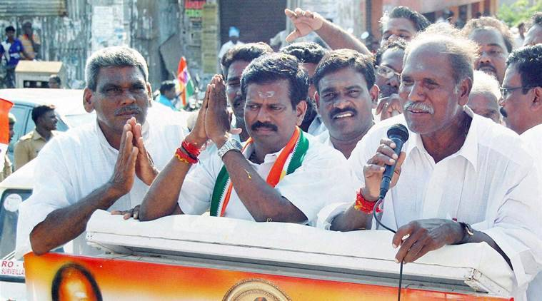 puducherry, puducherry elections, puducherry polls, N Rangasamy, pondicherry polls,