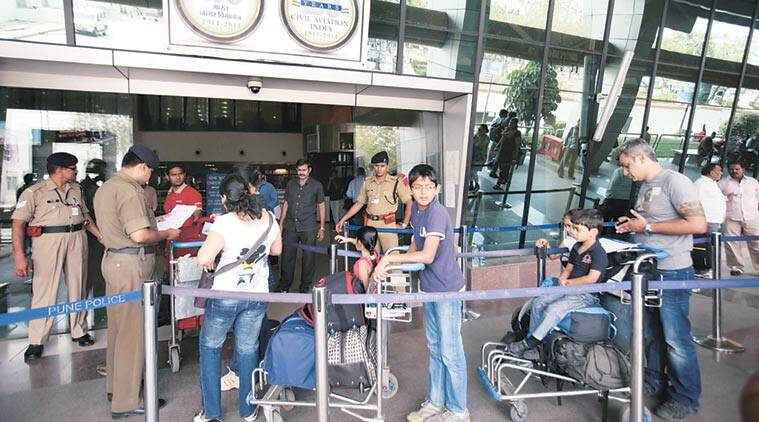 pune airport, pune airport baggage problem, airport baggage scale, pune news, india news, maharashtra news