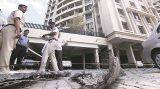 Big slab falls off in Pune's housing society; builder booked