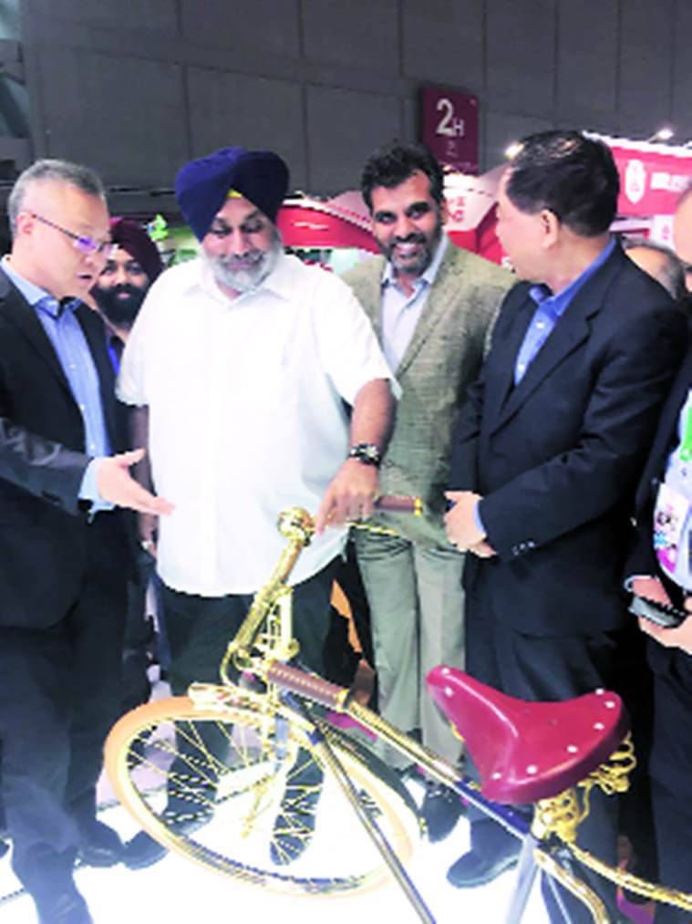 Punjab, Sukhbir Singh Badal, Ludhiana small industries, Ludhiana, small industries, Chinese Bicycle Association, CBA, punjab news