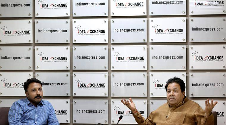 Rajeev Shukla, Idea Exchange, Idea Exchange Rajeev Shukla, Rajeev Shukla Idea Exchange, IPL, Maharashtra Drought, Maharashtra Water crisis, water crisis IPL, IPL water crisis row, IPL matches Maharashtra, IndiaNews