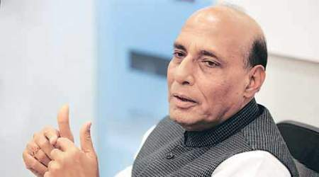rajnath singh, rajnath singh kashmir, rajnath singh press srinagar, mehbooba mufti, mehbooba rajnath press conference, kashmir protests, i