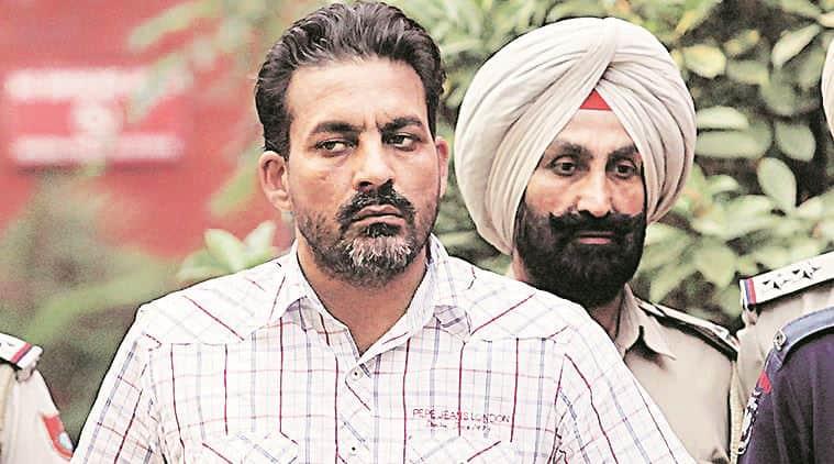 Rattandeep Singh, terror accusedRattandeep Singh, punjab police, police producedRattandeep Singh, chandigarh terrorist, chandigarh news