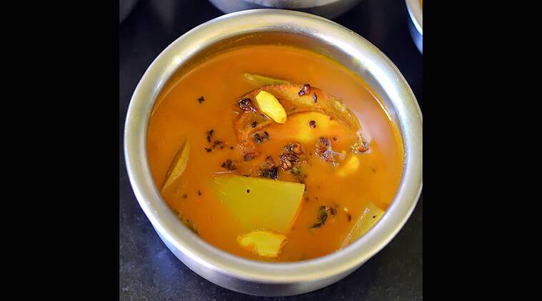 how to make mango curry in sinhala