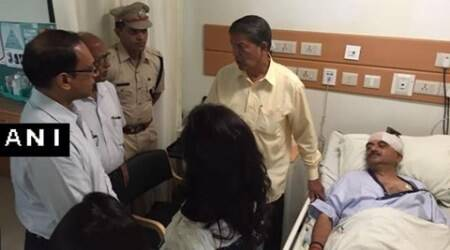 Harish Rawat visits injured BJP MP, assures stringent action against guilty