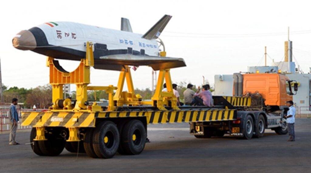 ISRO launches RLV-TD from Srih...
