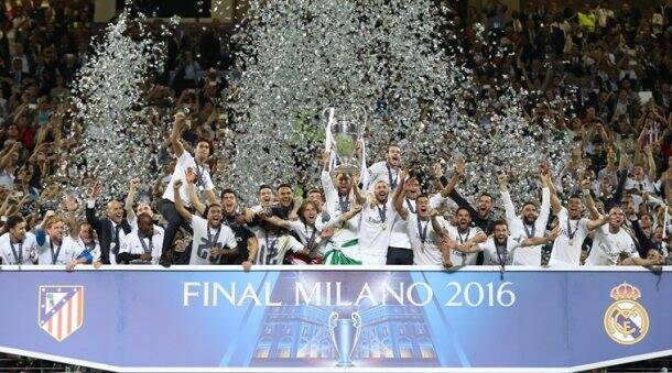 Real Madrid, Real Madrid Champions League, Real Madrid Atletico Madrid Champions League, Real Madrid photos, Real Madrid Champions League photos, RM celebrations, RM photos, RM vs ATM UCL, football photos