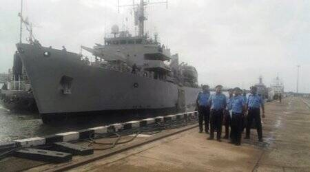 Cyclone ROANU: Indian naval ships rush to Sri Lanka with reliefmaterials