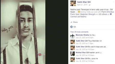 From Punjab jails, FB posts: 'I killed Rocky'