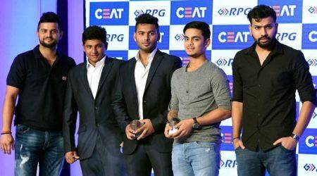 CEAT Cricket Awards: Rohit Sharma named Indian cricketer of the year; Dilip Vengaskar wins Lifetime Achievement Award