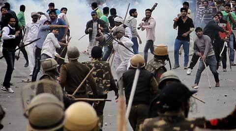 jat agitation, haryana jat agitation, haryana, jat, Jat stir, Jat reservation, Jat reservation stir, jat quota stir, Rohtak, police, Rohtak police, india news
