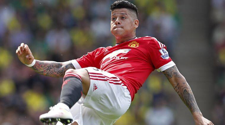 Manchester United\'s Marcos Rojo a doubt for FA Cup final | The ...