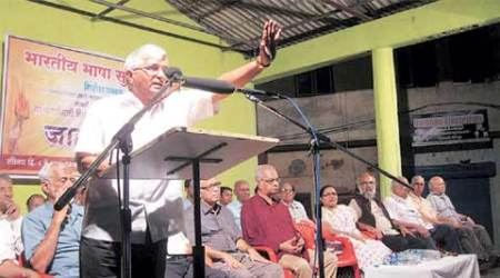 English medium schools: BJP broke trust, will intensify protest, says Goa RSS chief SubhashVelingkar