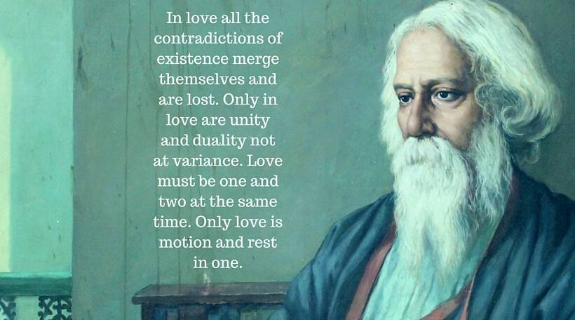 Inspirational pearls of wisdom by Rabindranath Tagore