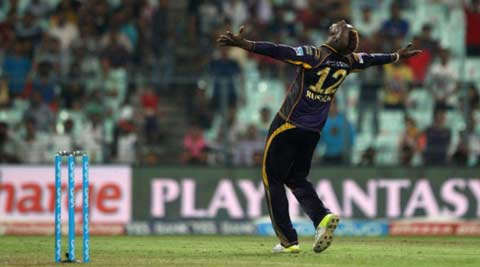 IPL 2016, KKR vs KXIP: Andre Russell show propels KKR to top  spot