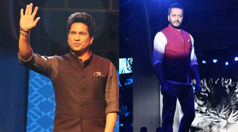Sachin Tendulkar fashion, Sachin Tendulkar fashion brand, Sachin Tendulkar true blue fashion, Riteish Deshmukh, Arvind Fashion Brands