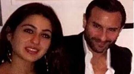 saif ali khan, sara ali khan, ibrahim khan, saif ali khan daughter, saif sara, amrita singh, saif amrita daughter, saif ali khan daughter pic, sara khan pics, sara ali khan pics, sara saif ali khan pics, saif sara dinner date, saif ali khan news, saif ali khan latest news, saif ali khan kids news, saif ali khan kids latest news, entertainment news