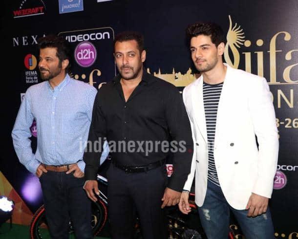 SAlman Khan, Anil Kapoor, Sooraj Pancholi
