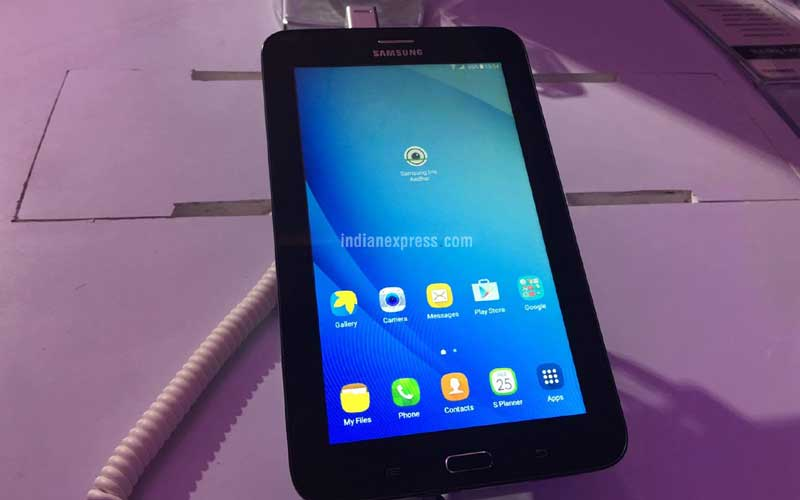 Samsung Tab Iris, Samsung new tablet, Samsung Made in India tablet, Samsung Tab Iris specs,Samsung, Samsung Tab Iris price, Samsung Tab Aadhaar data, tablets, technology, technology news