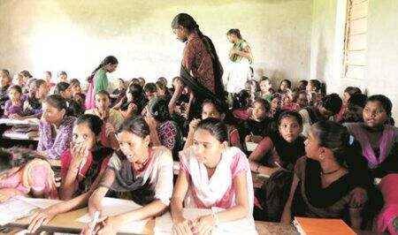 Gujarat school that kids had to swim to has highest fail rate