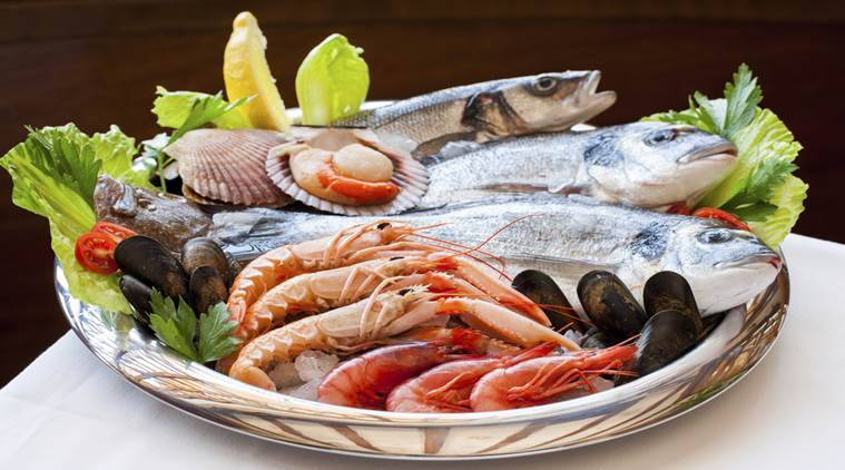 Eating a full course seafood meal once a week can help you ...