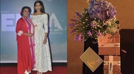 Shabana Azmi gets Mother's Day gifts from onscreen daughter SonamKapoor
