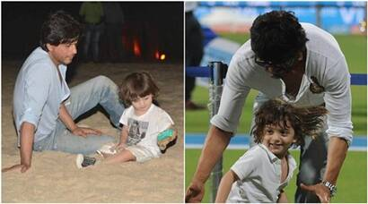 Happy Birthday AbRam: Shah Rukh Khan's special moments with his youngest son; see pics
