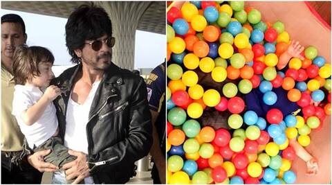 Shah Rukh Khan barred from sharing his kids' pics  on web, still shares one