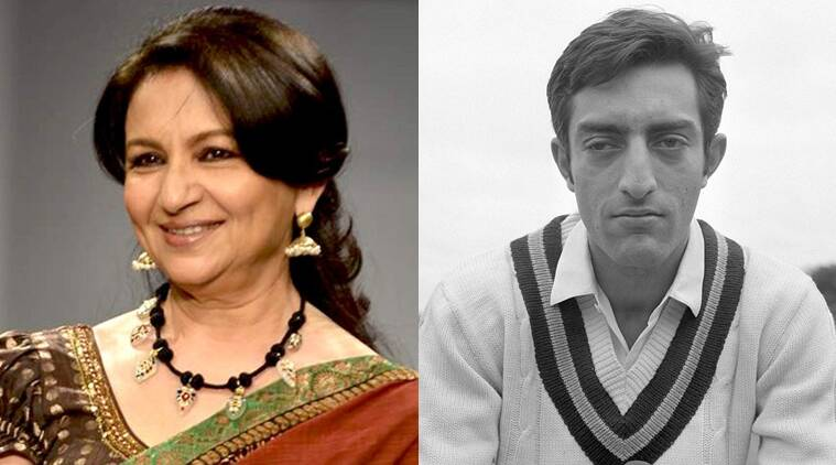 Image result for sharmila tagore and mansoor ali khan