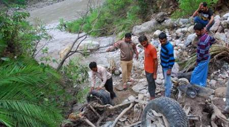 Shimla cloudburst: NDRF team joins search operations