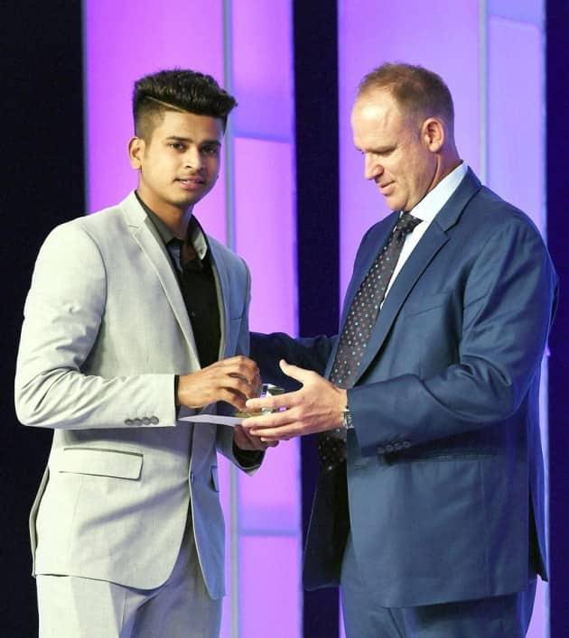 Shreyas Iyer, Shreyas, Iyer, Shreyas India, Shreyas awards, Shreyas CEAT award, CEAT Cricket award, Cricket awards, Cricket