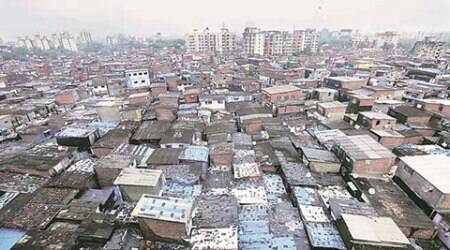 Mumbai: Upper-floor slum dwellers stage protest for housing under SRA